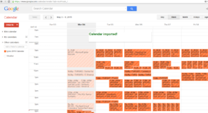 Ignite schedule to google calendar, step 4